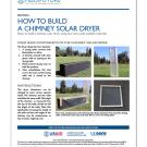 How to build a chimney solar dryer - Section 1 cover from solar dryer construction manual