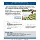 technology fact sheet: Pest-exclusion nets protect crops